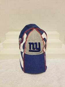 New York Giants Baseball Cap Hat NFL Youth Kids 4-7 Blue Strapback Reebok