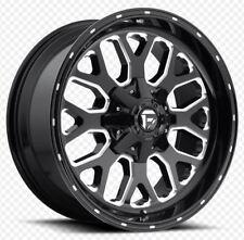 One Fuel Titan 20x10 5x5.5/5x150 ET-18 Black Milled Wheel