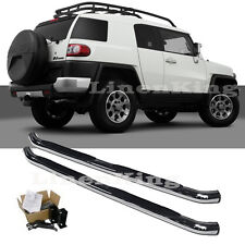 Fits 07-08 Toyota FJ Cruiser Side Nerf Step Bars Running Boards 202011S