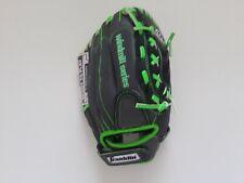 "Franklin Windmill 22318 Baseball Glove 12"" Black Green All Positions RHT Youth"