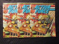 1987 Marvel UK Weekly ACTION FORCE #18  LOT of 3 FVF