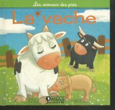 Les animaux de la ferme.La vache. Atlas ES10