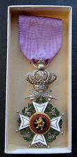 Belgium: Knights' Order of Leopold I medal order