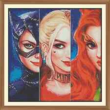 Gotham City Girls Cross Stitch Chart 12.0 x 12.0 Inches