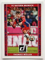 2015 Panini Donruss Fantastic Finishers Thomas Muller Press Proof /299 Bayern