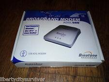 BINATONE BROADBAND ADSL 500 USB MODEM