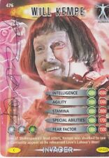 DR WHO TRADING CARD PERSONALLY SIGNED BY CAST MEMBER NUMBER 015