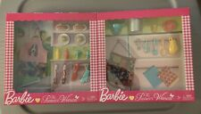 BARBIE THE PIONEER WOMAN REE DRUMMOND ACCESSORY PASTA  & BBQ SETS  NON MINT