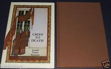 Signed limited Edition of Creep to Death by Joseph Payne Brennan ,Donald Grant