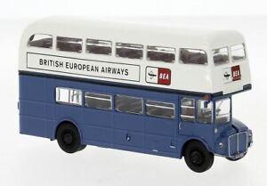"Brekina 1:87 61108 Äc Routemaster "" British Europeo Airways "" - Nuovo"