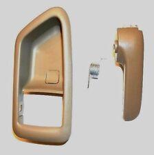 99-03 SOLARA RIGHT BEIGE TOYOTA INNER INSIDE DOOR HANDLE REPAIR KIT W COVER