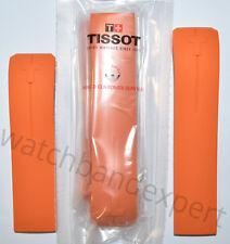 Original Tissot T-Touch II T047420 Expert T013420 Orange Rubber Watch Band Strap