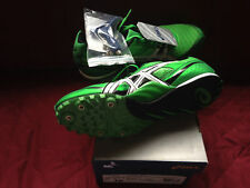 Brand new Mens' Hyper MD 4 Bright Green size 10 Track&Field Spikes G101N7001-10