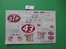 Decal Sheet (only) from  kit STP Grand Prix Stock car   #6728 (532)