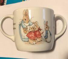 Wedgwood Peter Rabbit 2 Handle Childs Mug Cup