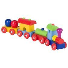 Goki Zug  / Eisenbahn Peru 4tlg. Holzeisenbahn Holzspielzeug  55974 NEU & OVP