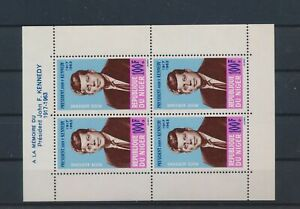 LN88644 Niger John F. Kennedy fp good sheet MNH