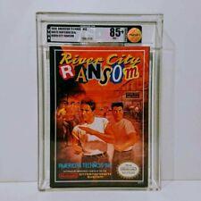 River city ransom graded VGA 85+ Nintendo Nes Sealed
