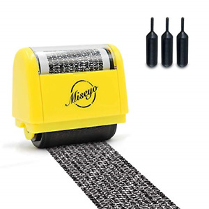 Miseyo Wide Roller Stamp Identity Theft Stamp 1.5 Inch Perfect for Privacy - 3