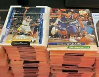 Huge Lot of 600 Assorted Basketball Cards 1990's - Present Day
