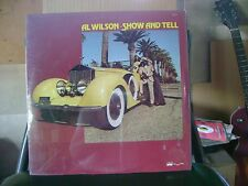 ORIGINAL FACTORY SEALED SOUL FUNK LP~AL WILSON~SHOW AND TELL~ROCKY ROAD~HEAR