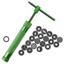 1pcs Clay Extruder Polymer Clay Extruder Gun With 20 Discs Sugarcraft Cake Tool