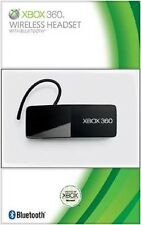 Microsoft Wireless Headset with Bluetooth for Microsoft Xbox 360 100% Brand New