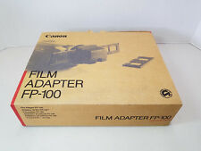 Canon FP-100 Film Adapter for Optura & Other Canon Video Cameras 46mm - NIB