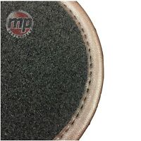 Perfect Fit Black Carpet Car Mats Tailored for Chevrolet Spark (2013>) + Fixings