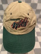 Minnesota WILD Hockey NHL Adjustable Adult Cap Hat