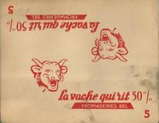 La vache qui rit Benjamin Rabier Jeu N° 5 Rallye automobile