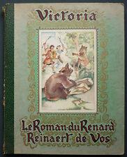 ALBUM COLLECTEUR IMAGES VIGNETTES CHOCOLATS VICTORIA COMPLET - ROMAN DE RENARD
