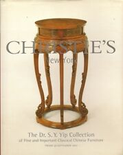 CHRISTIE'S Dr Yip Collection Classical Chinese Furniture Auction Catalog HC 2002