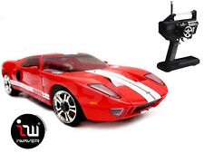 NEW IWAVER 02M FORD GT 40 RED RC CAR 1:28 FM RTR MINI-Z