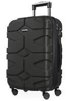 X-Kölln Handgepäck Hartschalenkoffer Trolley Rollkoffer Koffer TSA schwarz