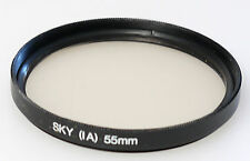 (PRL) SKY 1A 55 mm FILTRO FILTER FILTRU FILTRE FILTAR SKYLIGHT PHOTO FOTOCAMERA