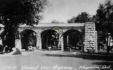 """Napanee, Ontario, Canada """"CNR viaduct Highway """" in 1920 Reprint Pro Glossy Paper"""