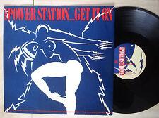 """The Power Station Get It On ♫LISTEN♫ UK 12"""" T.Rex Duran Duran 1985 EX/EX+"""