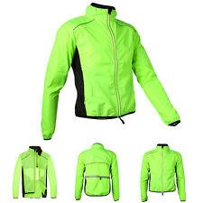Fashion Bicycle Breathable Jacket Long Sleeve Wind Coat Reflective Outwear