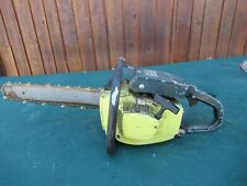 "Vintage PIONEER P40 Chainsaw Chain Saw with 16"" Bar"