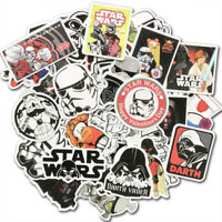 50Pcs Star Wars Vinyl Stickers Bomb Car Laptop Skateboard Luggage Graffiti Decal