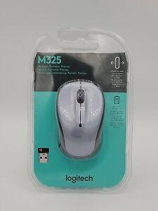 Logitech M325 Wireless Mouse Silver 910002332 M325
