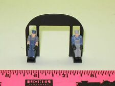 New Lionel Parts ~ bulk head / cab rear wall with crew figures