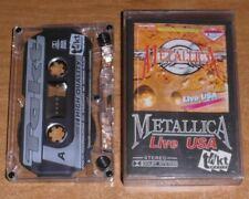 METALLICA - Live USA Cassette Tape Takt