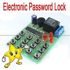 Simple Electronic Password Lock Circuit DIY Learning Kits kb
