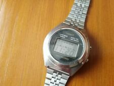 RELOJ TISSOT DATA RECORDER LCD DIGITAL VINTAGE VERY RARE WATCH