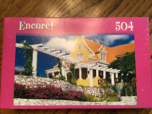 Willemstad Country House Netherlands Puzzle by Encore 504 Pieces (NEW)