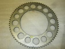Overlay Sprocket CZ HUMMER BANDIT GREEVES SX SPRINT 428 PITCH 72 TOOTH AHRMA
