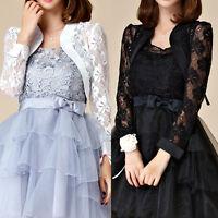 Women Ladies Evening Party Top Dress Bolero Shrug AU Size 10 12 14 16 18 #7669