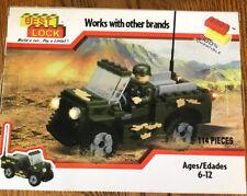 Best-Lock Toy Military Utility Car NEW